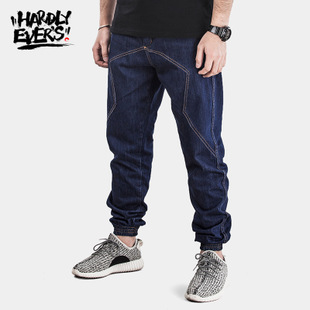 hardlyevers amount Phil primary color jogger pants big yards influx of men and men's jeans pants beam