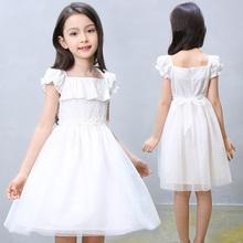 女童纯棉连衣裙 儿童网纱裙 公主裙