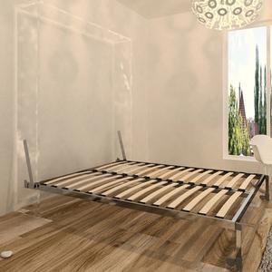 多功能隐形床五金 折叠床自动脚五金床架  墨菲床 壁柜床定制五金