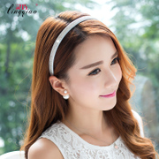 Smart wave fine Korean rhinestones new hair accessories headband hair clip headband Pack post card
