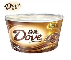 Шоколад, шоколад ручной работы,  Dove голубь шелковистый молоко шоколад  252g чаша наряд случайный еда нулю еда специальное предложение, цена 420 руб