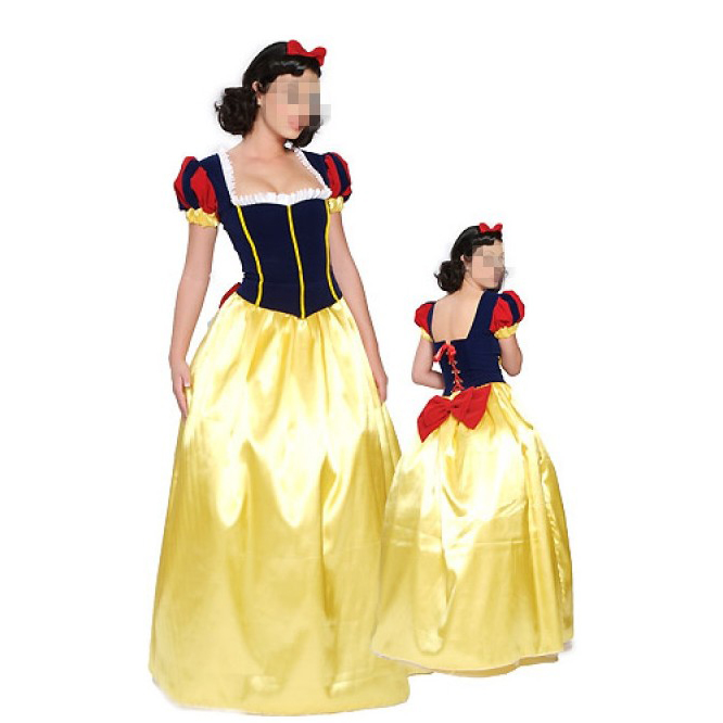 Fairy tale character Snow White cos costume Disney Snow White Cosplay role play costume