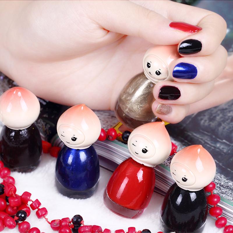 BK旗舰美甲裸色指甲油蜜桃宝宝指甲油套装持久不可剥自选5瓶*8ML