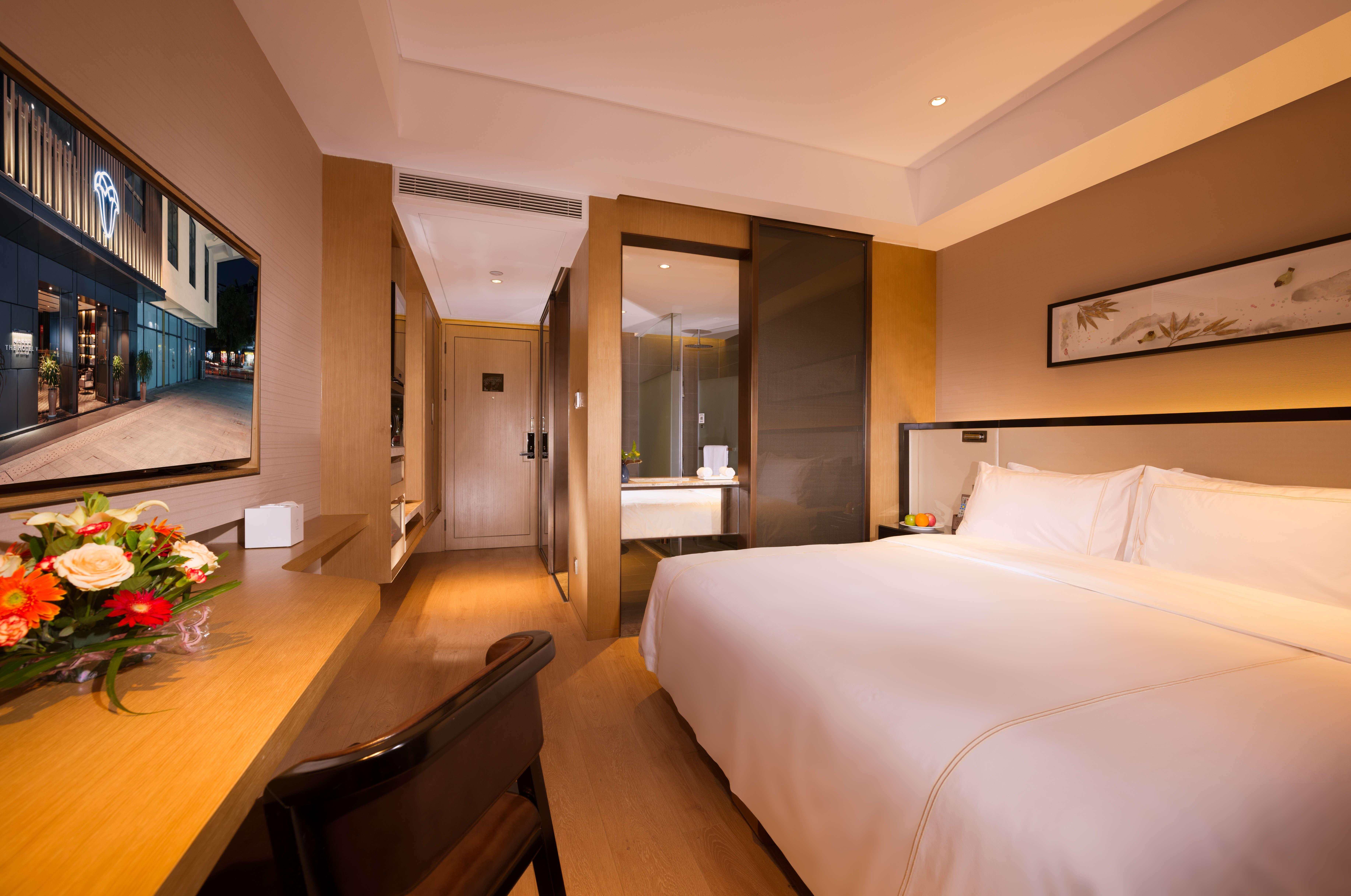 Nanjing shuguangwei Hotel (Confucius Temple store) business big bed room