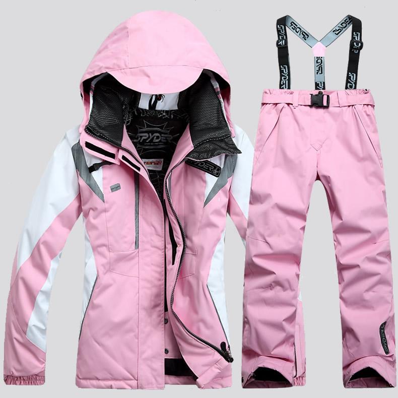 2017 на открытом воздухе мисс катание на лыжах одежда нижнее белье установите геометрическом ветер утолщённый из стеганой ткани очень тепло зима одежда