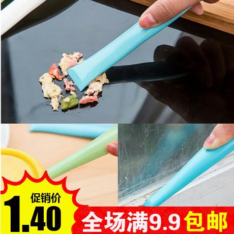 Многофункциональный двойной пластик чистый скребок кухня тайвань обеззараживание разрыв разводы обеззараживание лопата царапина потяните бак открыто бак устройство