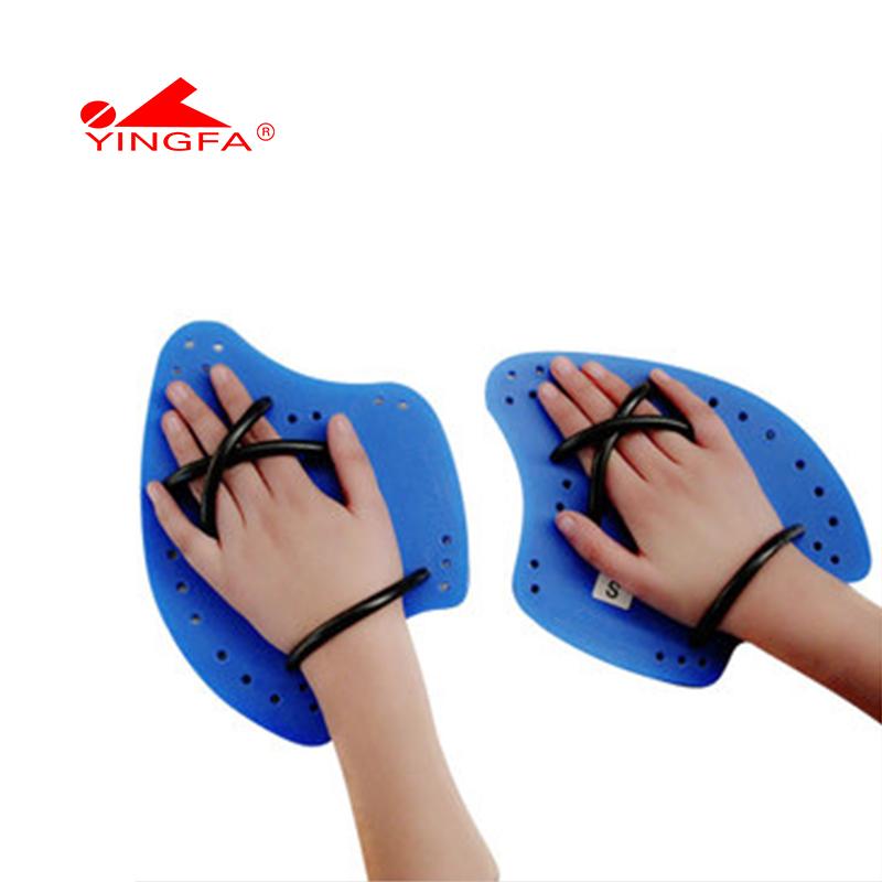 Climax / yingfa ax style paddle palm training for freestyle arm stroke swimming equipment swimming webbed gloves