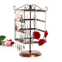 Metal process 144 hole 10 hook earrings necklace Rack Jewelry rack jewelry shelf display frame