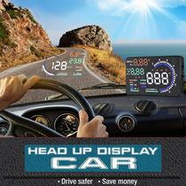 台湾出品A8车载OBD行车电脑汽车HUD抬头显示器车速仪平视投影