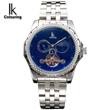 Limited-time rushed to IK authentic man fully automatic mechanical watches Stars and colorful color surface character