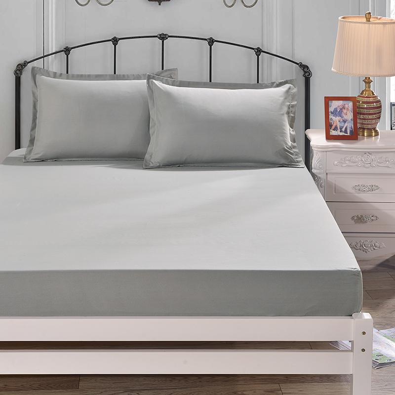 晶麗萊升級單件純色床笠四季床罩床墊防滑套席夢思保護套1.8米