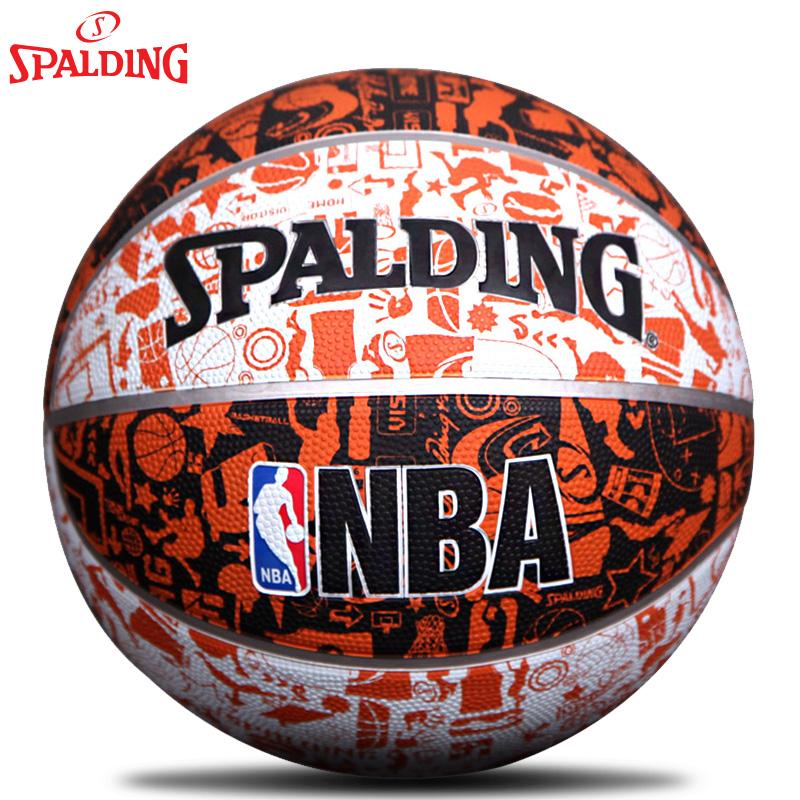 包順豐斯伯丁籃球 NBA塗鴉 街頭lanqiu硬地耐磨防滑室外橡膠