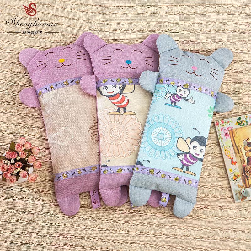 蕎麥枕茶葉枕 寶寶枕嬰兒枕兒童枕頭冰絲枕茶香涼枕夏天