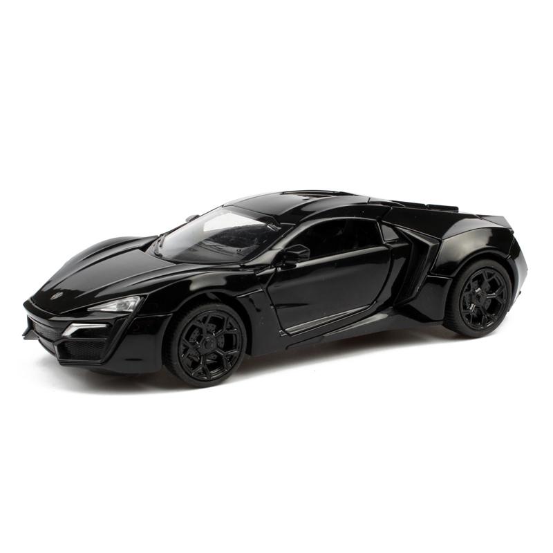 合金汽車模型激情速度戰車萊肯跑車聲光車模回力金屬仿真兒童玩具