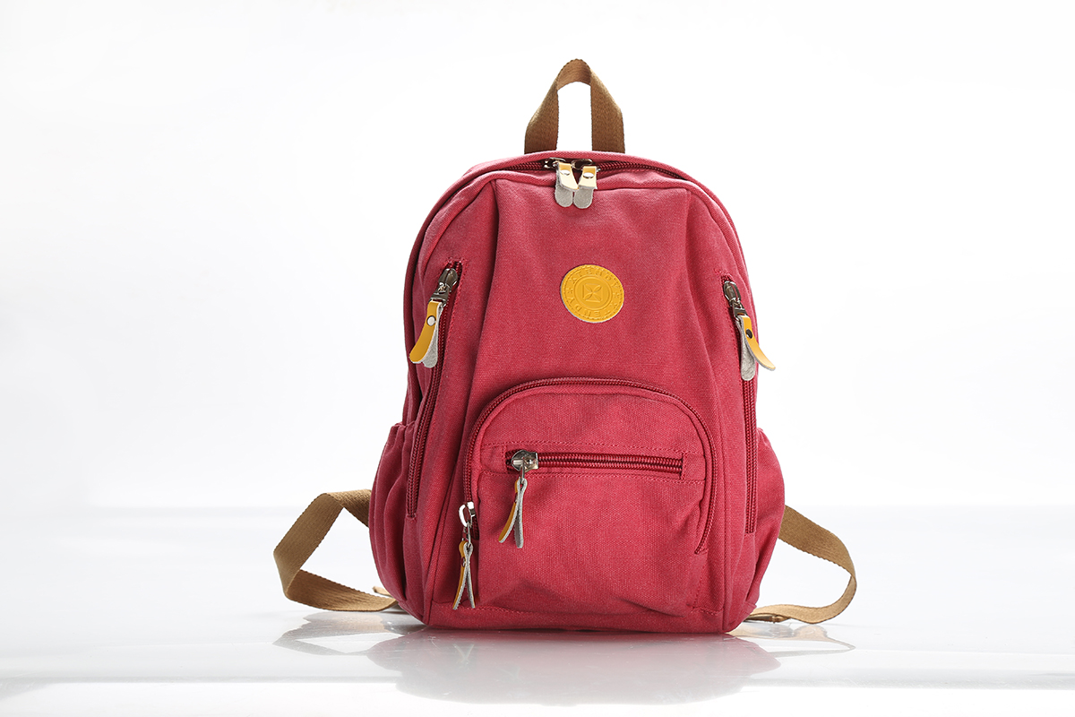 2018xtedy export single retro Canvas Backpack womens backpack college backpack fashion trend versatile