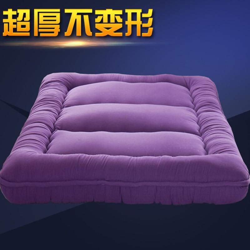 瑜心樂榻榻米床墊10cm海綿床墊可折疊地鋪墊學生床墊1.51.8米
