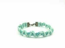 MENTHADIY manual customization Mint green hand made woven bracelet