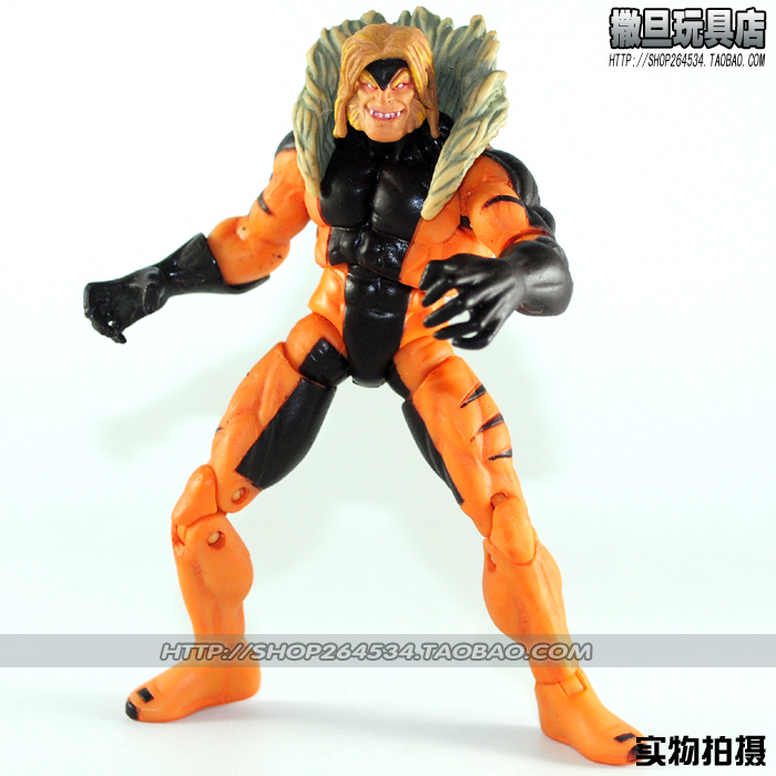 «Сатана игрушки» MARVEL комиксов герой серии MU 3.75 дюйма Росомаха врага саблей – зубатых Тигр