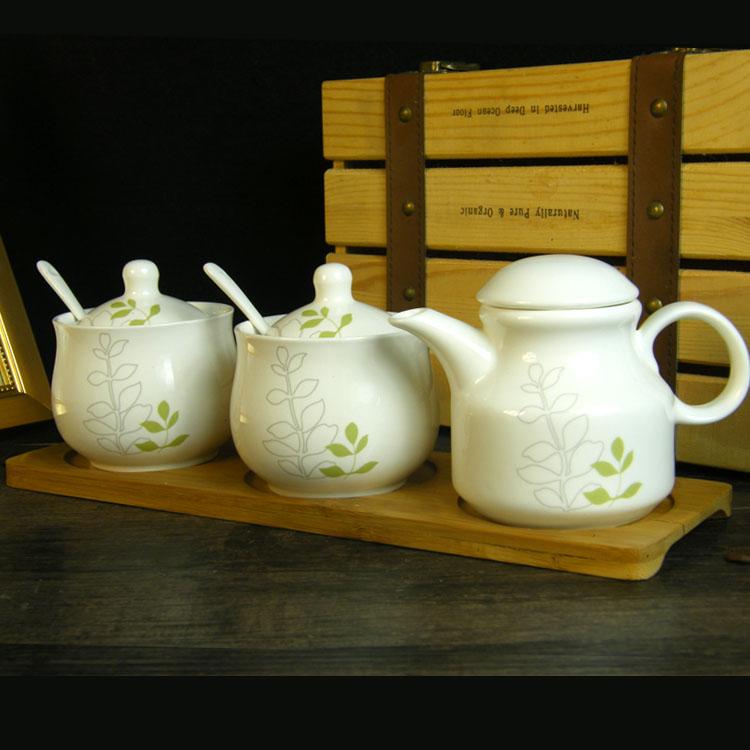 Кухонная посуда, приправа, приправа комплект Керамическая приправа банку керамическая приправа солонка солонка сахарная чаша