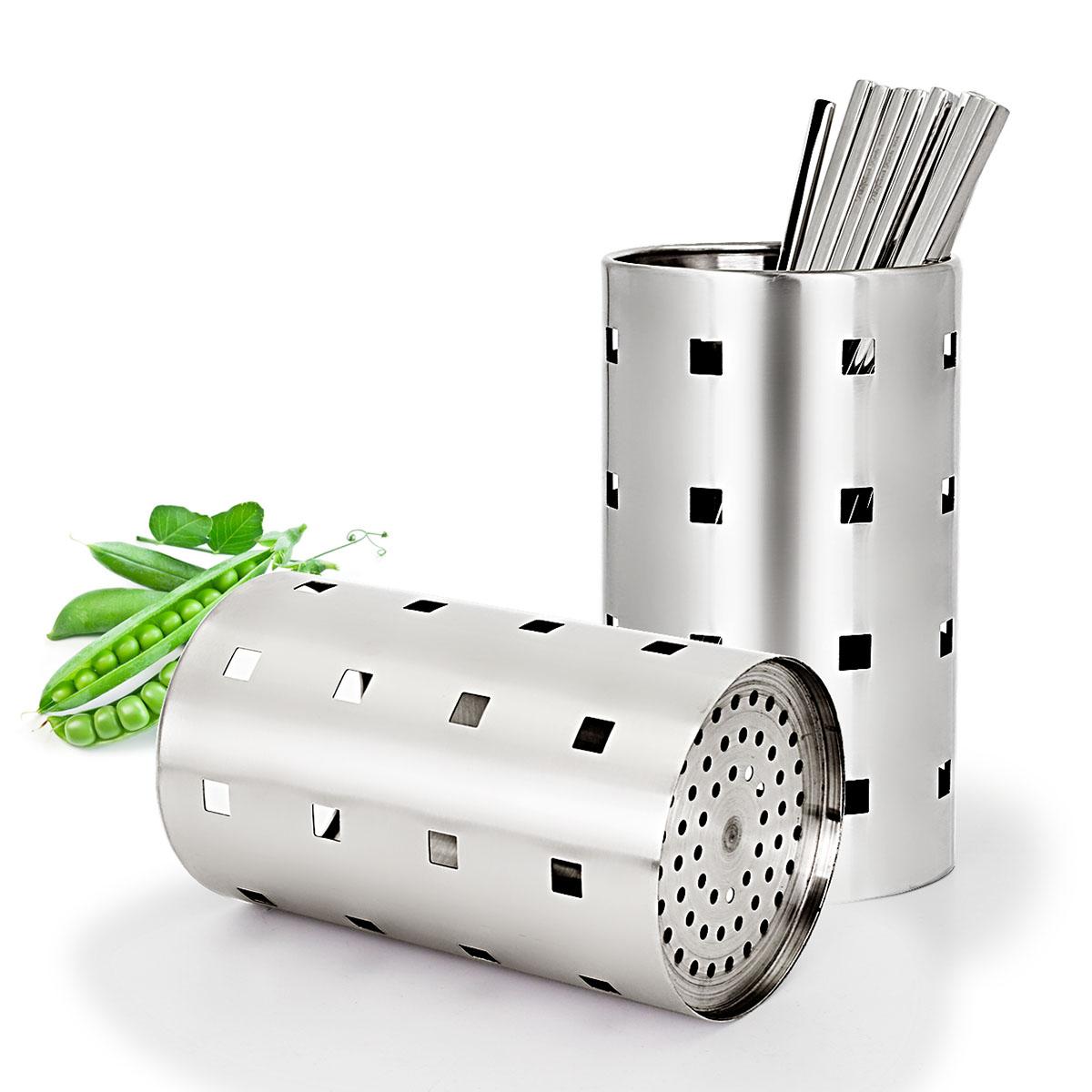 【 рысь супермаркеты 】 создать получить нержавеющей стали количество палочки для еды клетка палочки трубки творческий посуда в коробку дренажный
