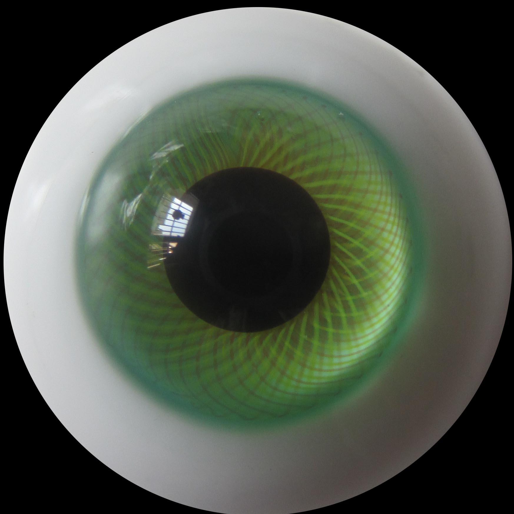 订做bjd、sd、可儿、自制娃娃E1809草绿玻璃眼睛珠尺寸8MM至20MM