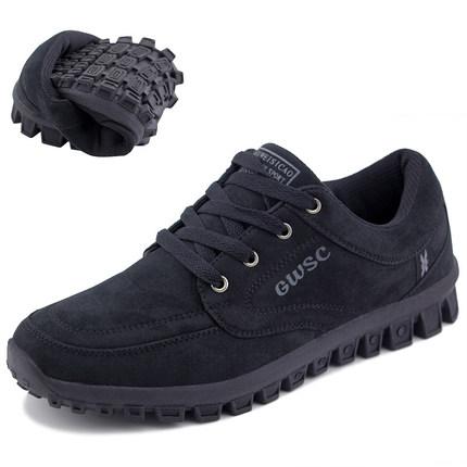 春季软底中年人运动鞋爸爸轻便旅游鞋防滑中老年四超健步鞋男女款