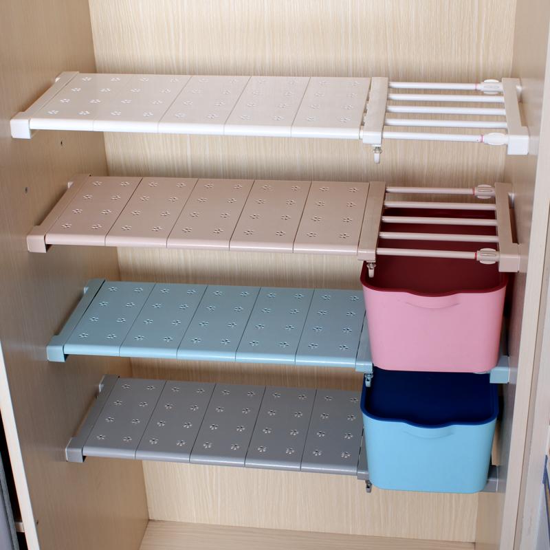 衣櫃收納分層架分隔板宿舍櫃子隔斷置物架寢室衣櫥格子隔層整理架