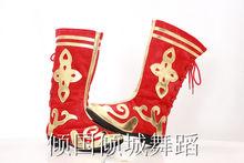 Тибетские танцы > Обувь.