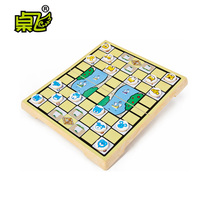 UB Table Flying cartoon animal game chess Animal Magnetic Folding Board childrens games chess nostalgic classic toys