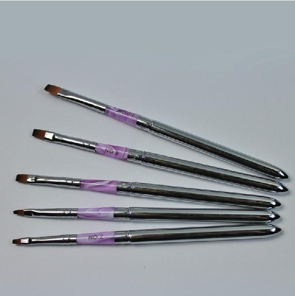 Фототерапии ногтей ручка combo стальной трубы, винт фототерапии свет терапия гель покрытие с помощью кисти рекомендуется