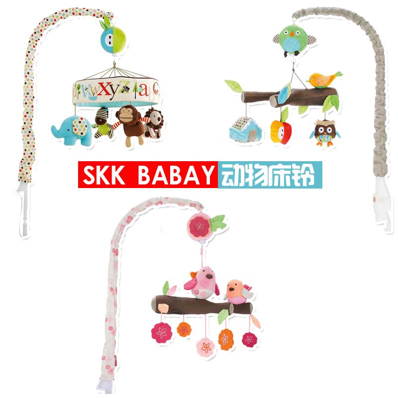 SK-friendly лесных животных кровать колокола Music box музыка торговля Le дети игрушки плюша, ребенок оказывается до 0.