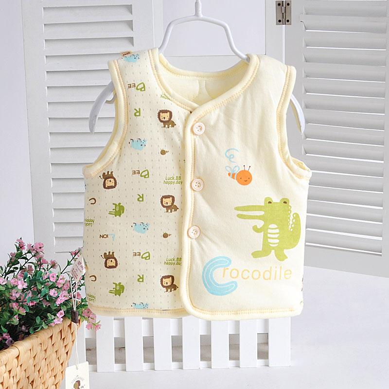 嬰尚嬰兒男女寶寶純棉坎肩