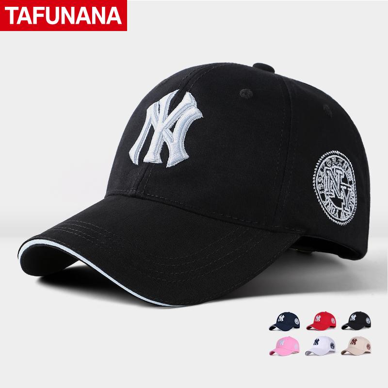 男女士戶外棒球帽子情侶鴨舌帽春夏 嘻哈帽NY 防曬遮陽帽子