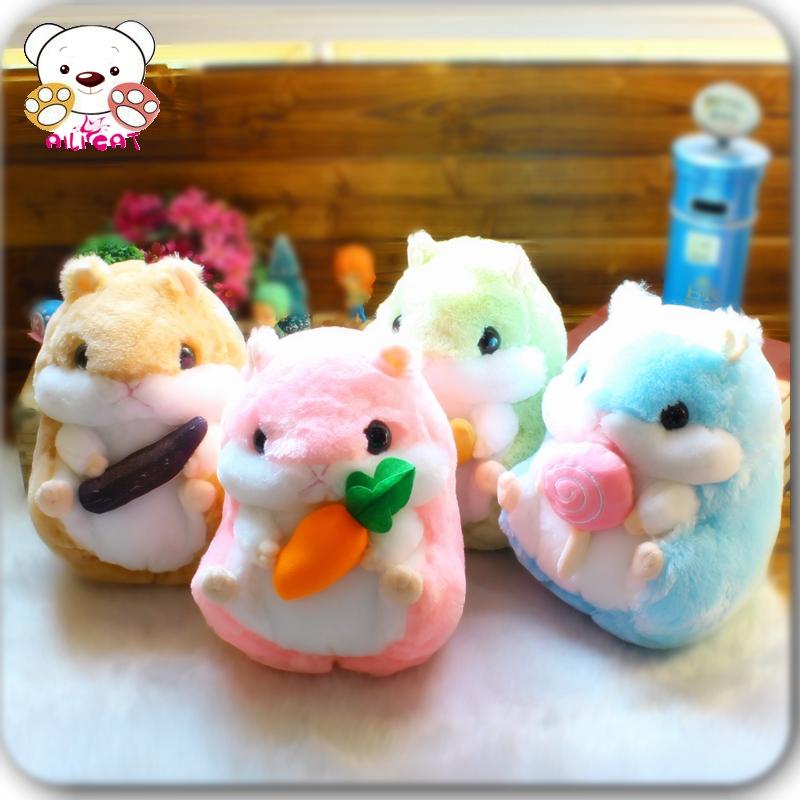 可爱仓鼠玩偶毛绒玩具公仔布偶娃娃抱枕豚鼠老鼠情侣生日礼物女
