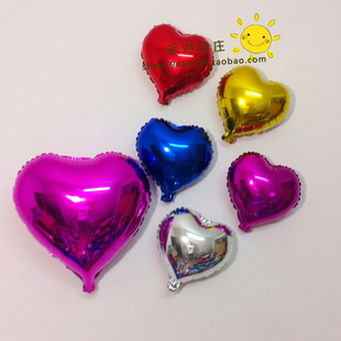 18 Cunxin shaped aluminum balloons birthday party party love marriage room decorated foil wholesale
