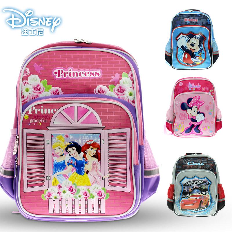 迪士尼書包小學生男女1~3年級卡通米奇白雪公主雙肩背包兒童書包