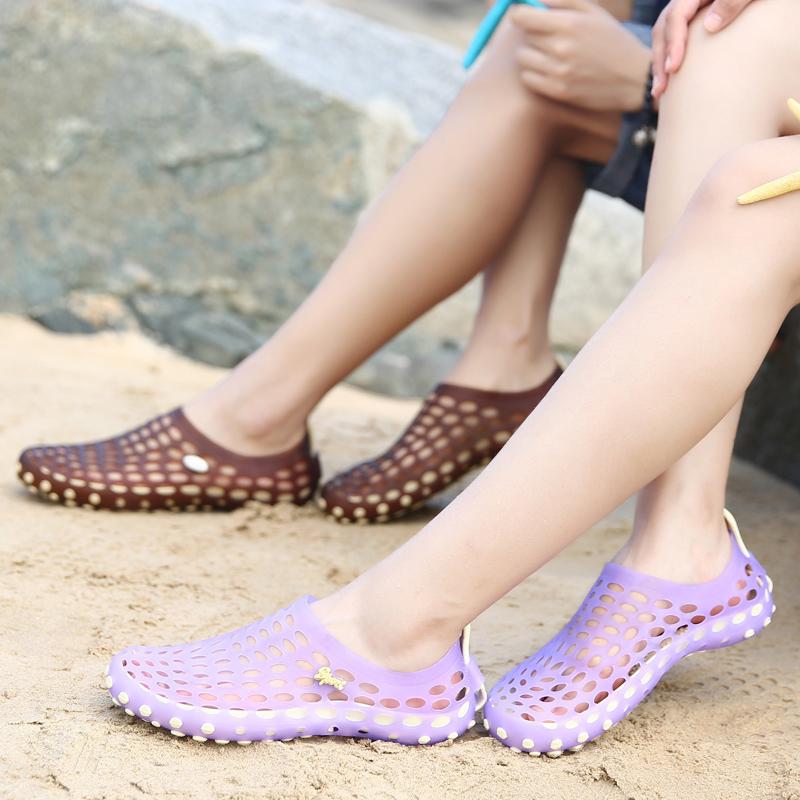 鸟巢拖鞋休闲鞋沙滩拖鞋女海边夏季洞洞鞋女夏沙滩鞋凉拖鞋防滑鞋