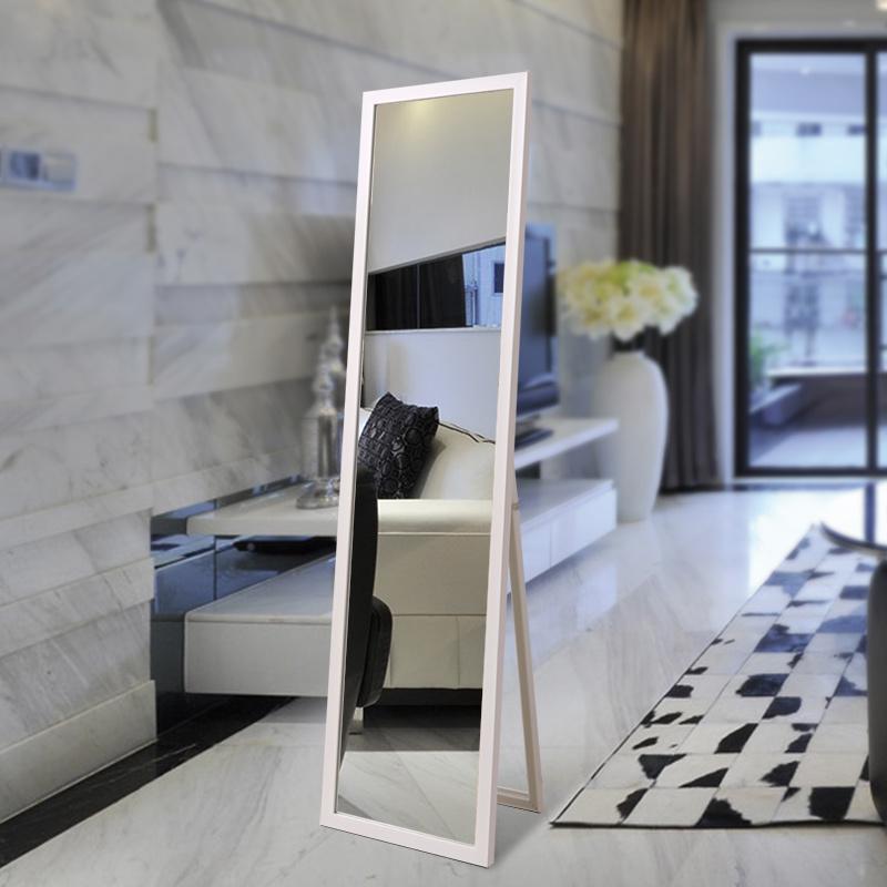YISHARE穿衣鏡全身鏡子落地鏡試衣鏡簡約 帶支架鏡子壁掛 鏡子