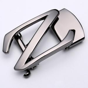 男士皮带头自动扣Z字扣无皮带条合金3.5CM腰带扣皮带卡子配件