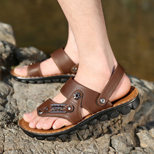 aa4d4f12ab9 Summer 14-year-old 15 men sandals of 16 17 18 high junior middle