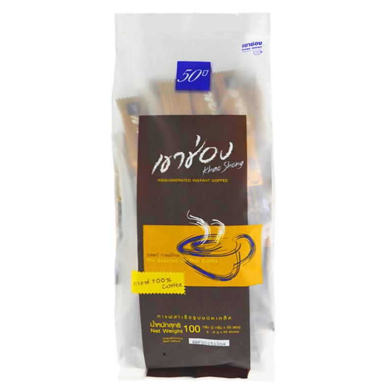 ~天貓超市~泰國 高崇黑咖啡無白砂糖無奶(50條裝)100g 袋