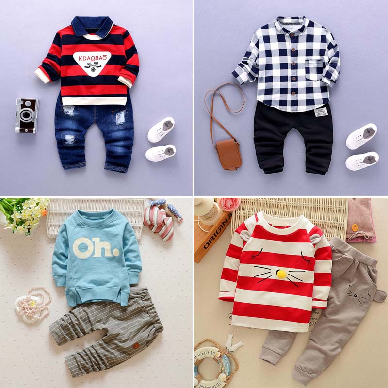 男童 寶寶男孩兩件套