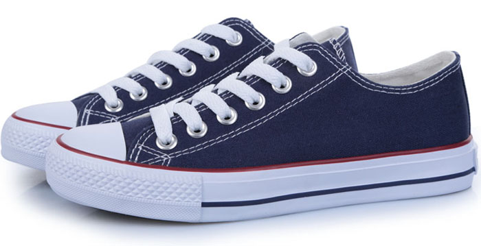 Canvas shoes mens shoes Korean fashion low top British casual shoes extra large 44 45 46 47 48