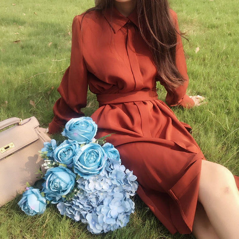 178.00元包邮oversize宽松连衣裙中长款夏季衬衫