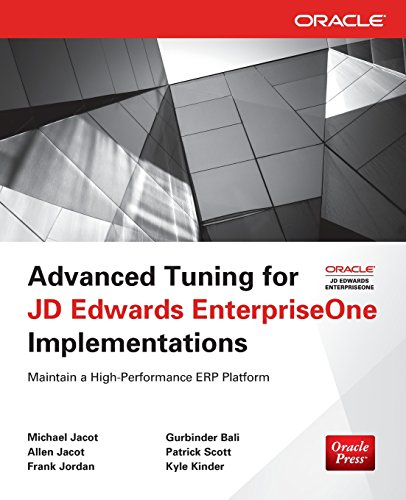 【预订】Advanced Tuning for JD Edwards Enter...