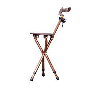 老人拐杖凳椅子老年...