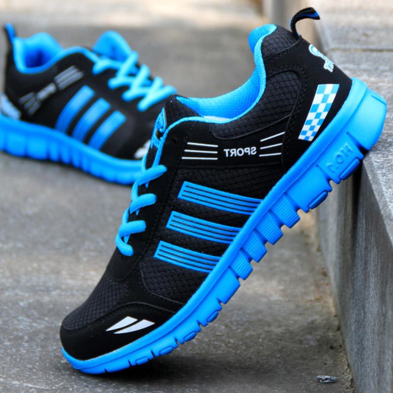 低帮大码男鞋韩版板鞋日常运动休闲鞋网面学生鞋青少年跑步鞋潮鞋