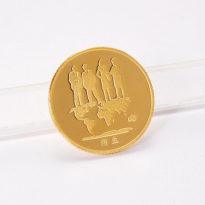 Навсегда большой золото желтый номер золото подарок сделанный на заказ золото бизнес знак годовщина годовщина подарок персональные настройки