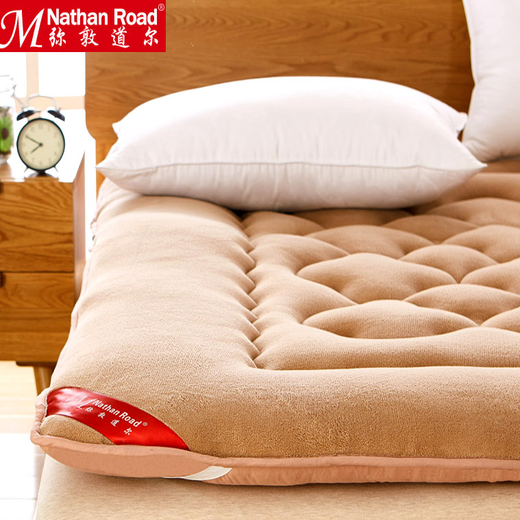 加厚床墊學生宿舍榻榻米海綿褥子可折疊單雙人墊被1.5m1.8米床褥