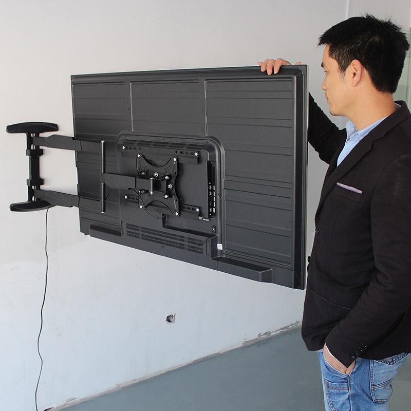 液晶电视挂架伸缩旋转壁挂支架小米4A海信创维32-55寸挂墙电视架